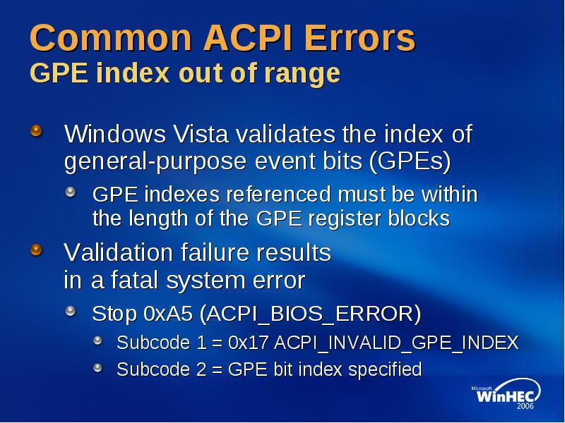 4/3/:53 pm acpi in windows vista ppt download.