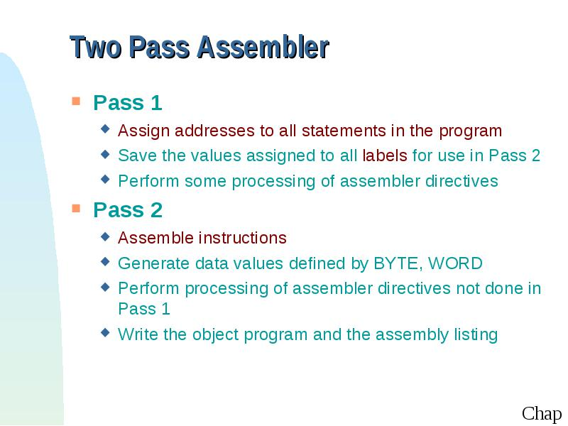 Assemblers System Software By