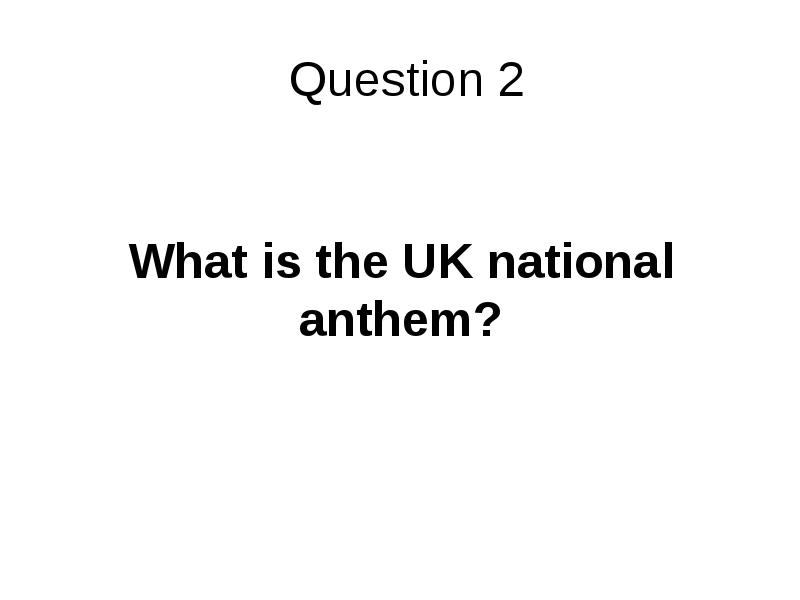 Britain Quiz 2006 What is the full name of the uk?