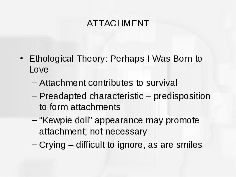ethological theory