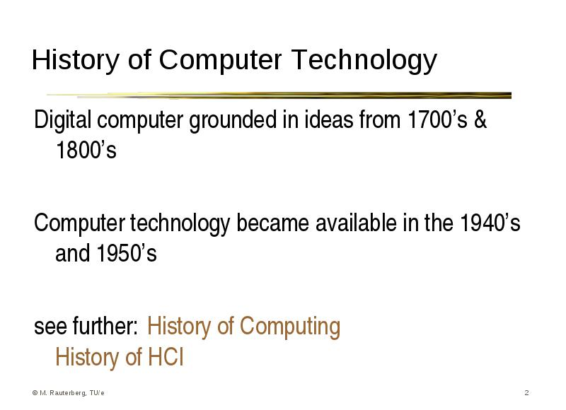 Digital computer grounded in ideas from 1700's & 1800's