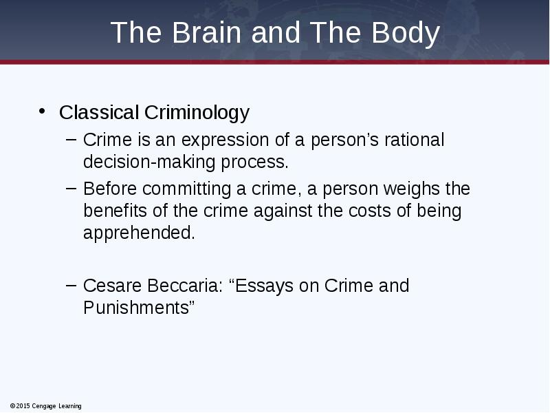 what is classical theory of crime