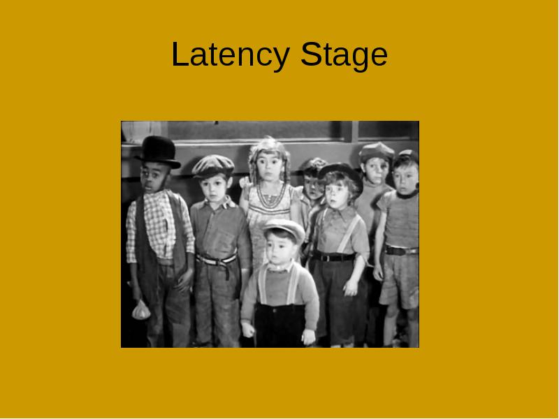 the latency stage