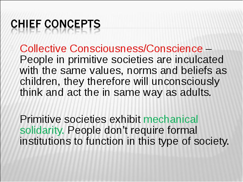 collective conscience sociology