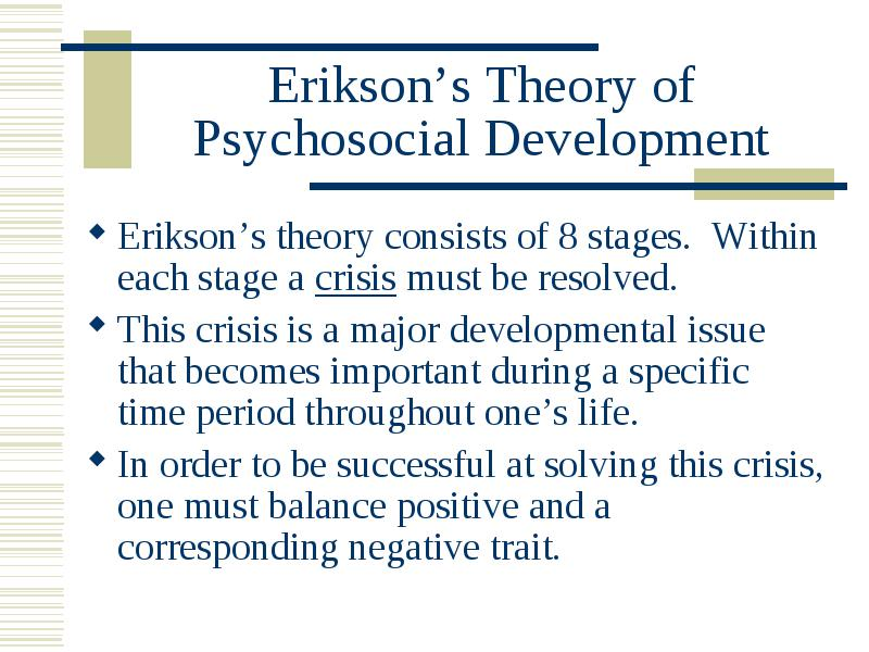 stages of psychosocial development pdf