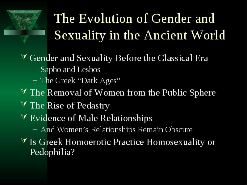 gender in the ancient world Gender fluidity in the ancient world: research and pedagogy 11am – 5pm, 15th november 2017 arts building lecture theatre, st andrews a workshop convened by the school of classics to consider concepts of gender fluidity in relation to the classical world, greek and roman the aim of the workshop is both academic and.
