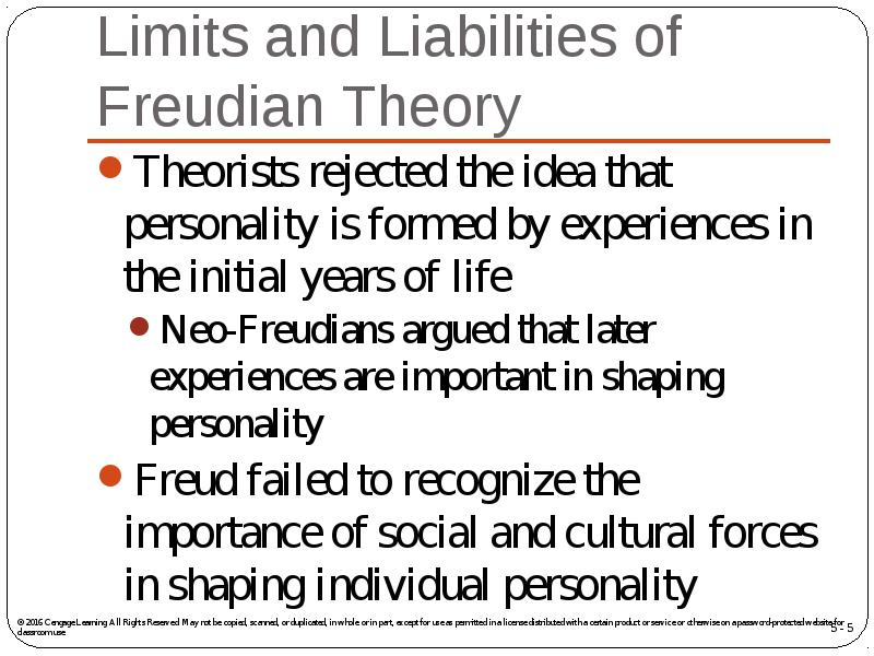 neo freudian theory of personality