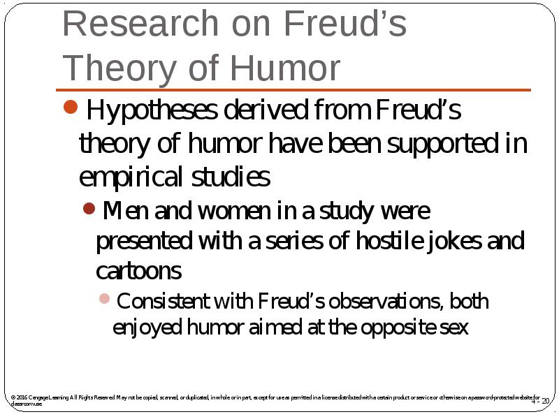 a study of freudian theory