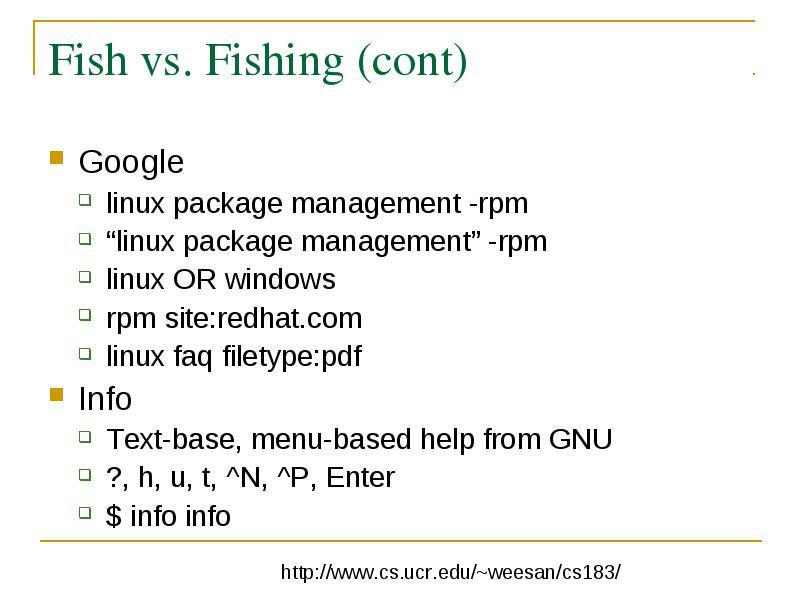Linux Basics WeeSan Lee