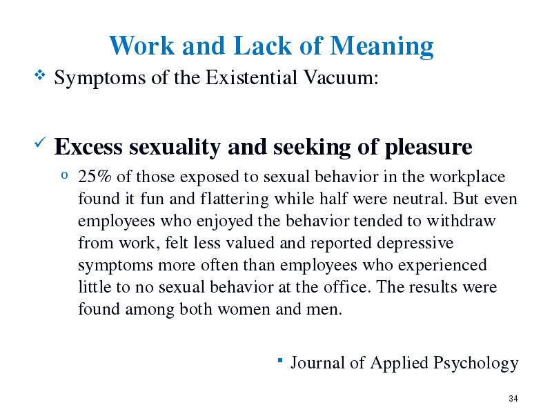 What Is Sexual Excess