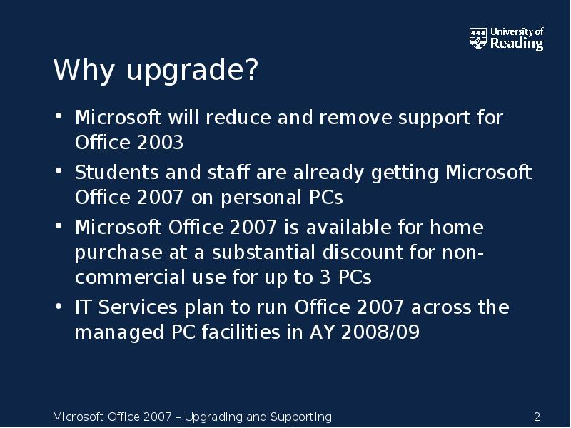 Microsoft Will Reduce And Remove Support For Office 2003