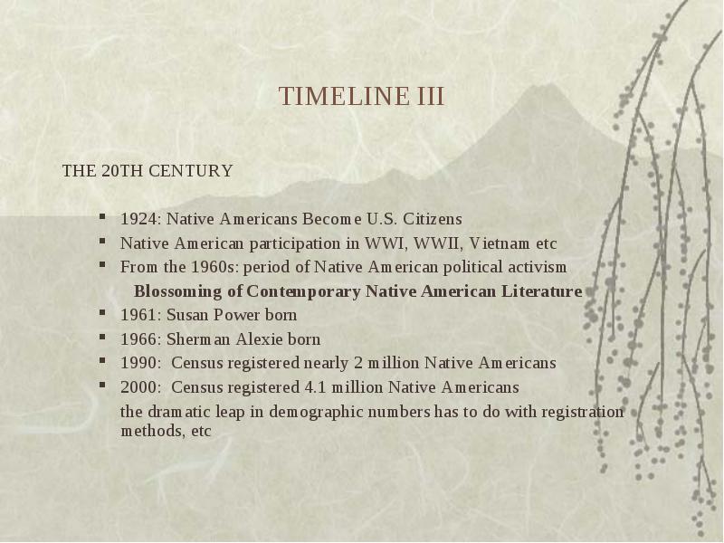 contemporary native american literature