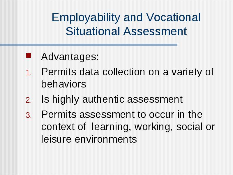 advantages of authentic assessment