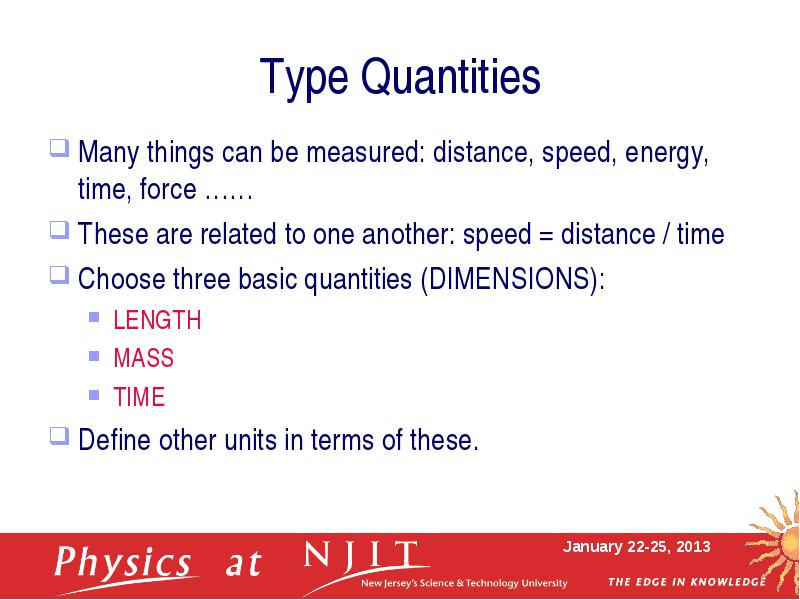 Physics 111 – Course Information