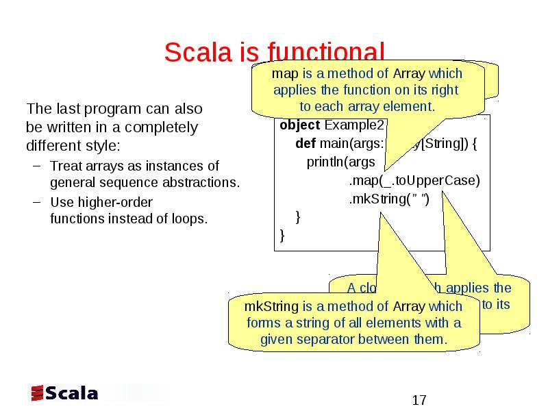 Scala: How to make best use of functions and objects Phillip
