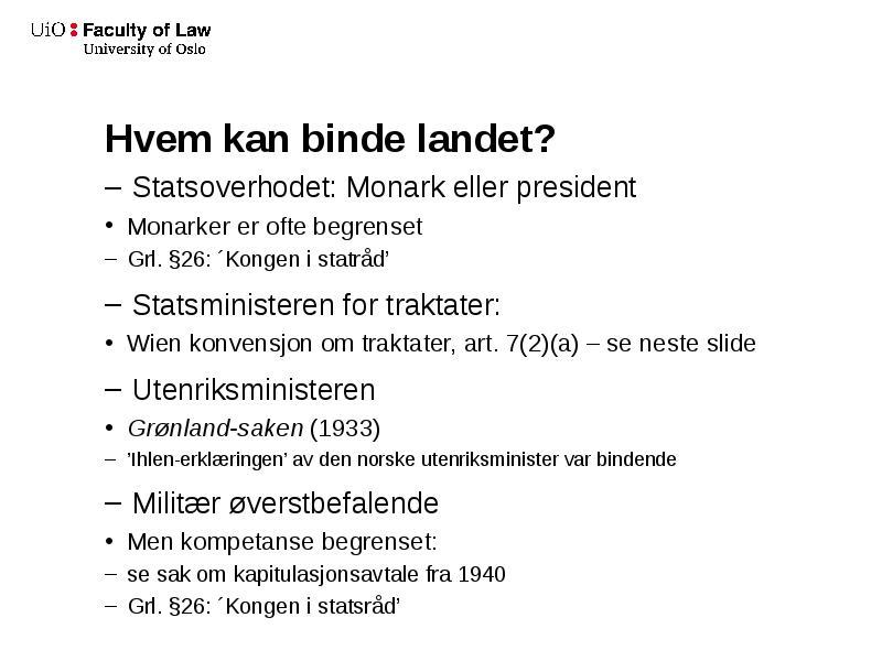 statsoverhodet i norge