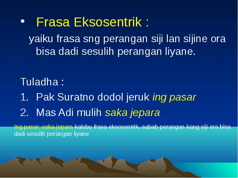 Sintaksis Bahasa Jawa Dosen Harsono S S