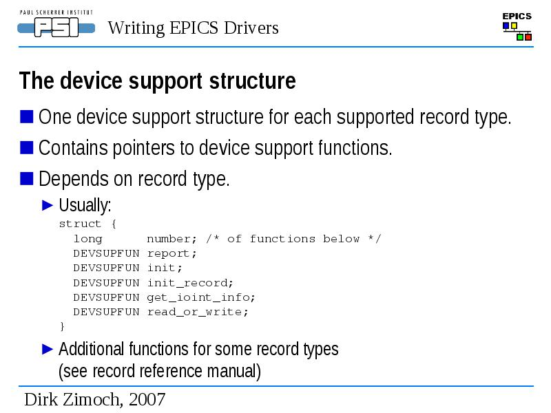 writing epics drivers and device support rh genderi org epics record reference manual pdf epics ioc record reference manual